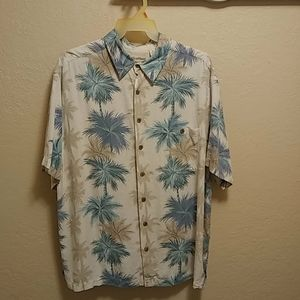 Caribbean Hawaiian Print Short Sleeve Sz 2XL Shirt